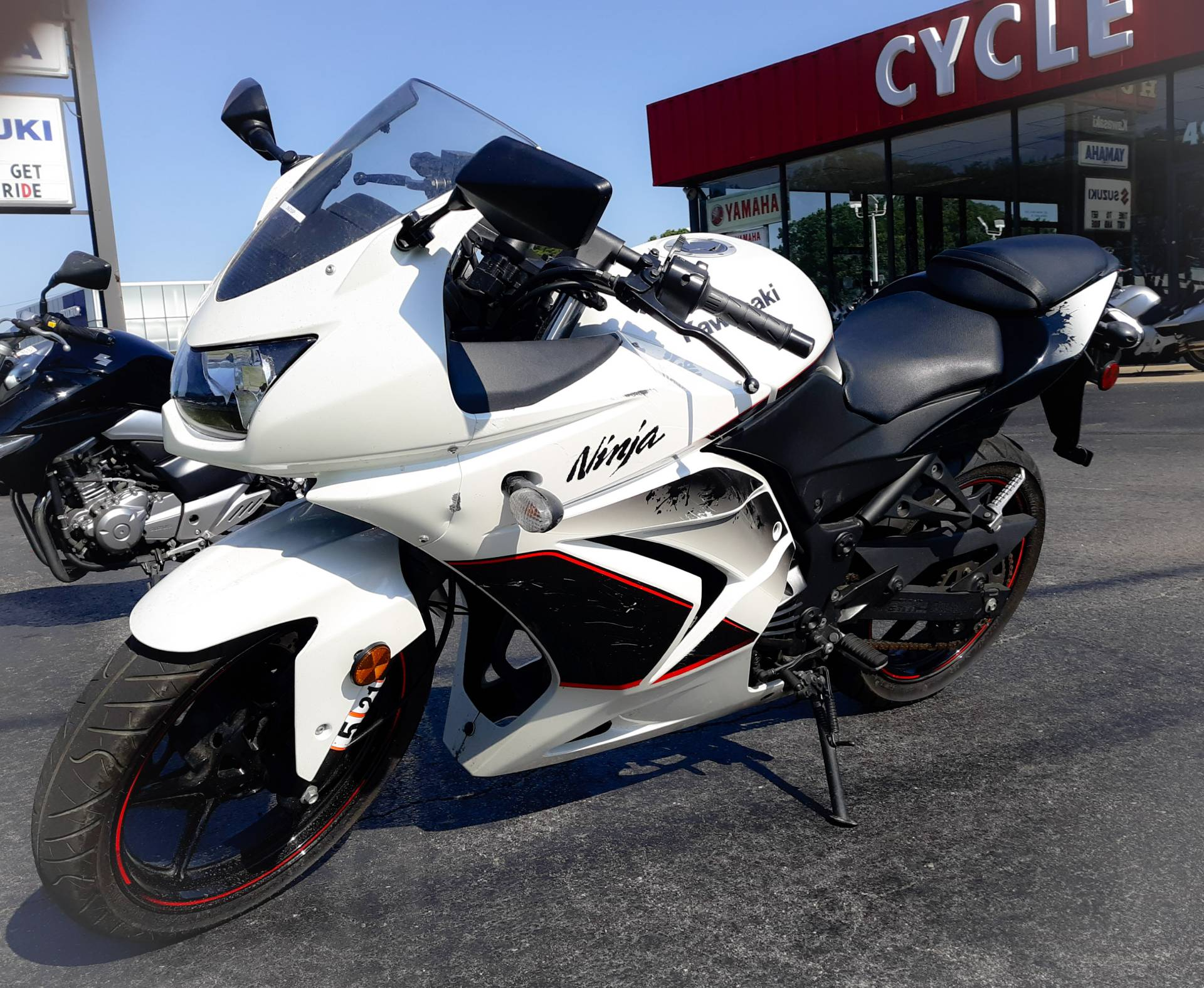 2011 Kawasaki Ninja® 250R in Virginia Beach, Virginia - Photo 1