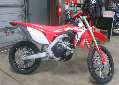 2019 Honda CRF450L in Virginia Beach, Virginia - Photo 1