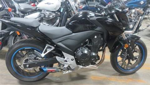 2014 Honda CB500F in Virginia Beach, Virginia