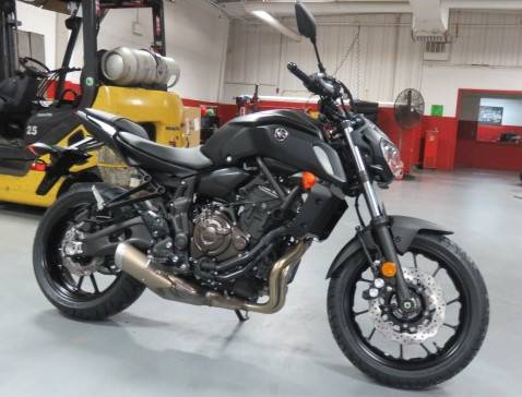 2019 Yamaha MT-07 in Virginia Beach, Virginia - Photo 3