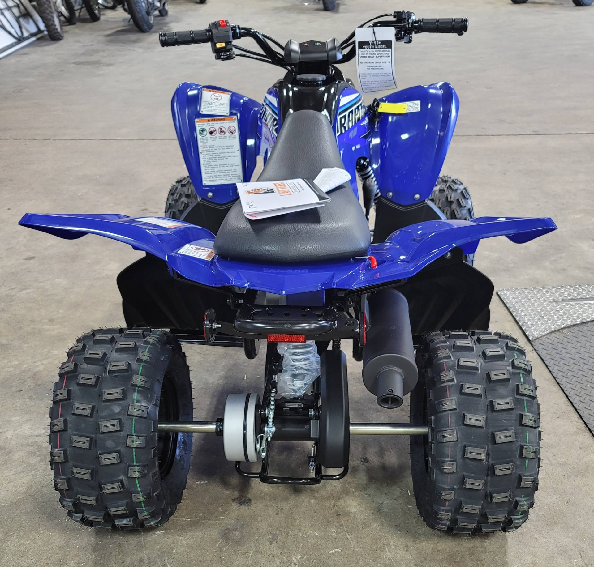 2021 Yamaha Raptor 90 in Virginia Beach, Virginia - Photo 2