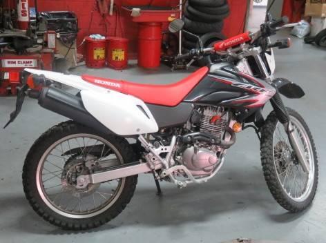 2009 Honda CRF230M 4