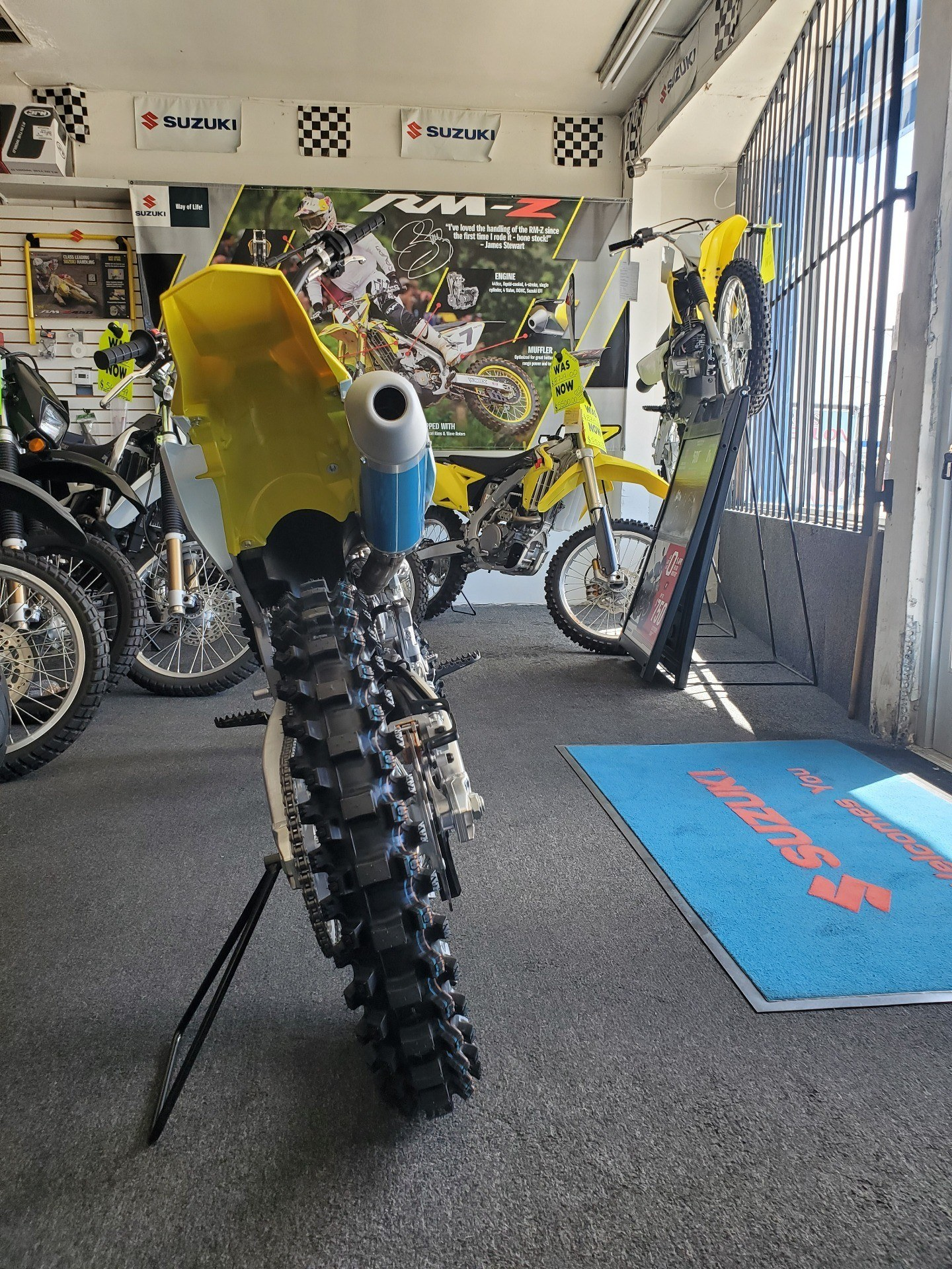 2020 Suzuki RM-Z250 in Van Nuys, California - Photo 3