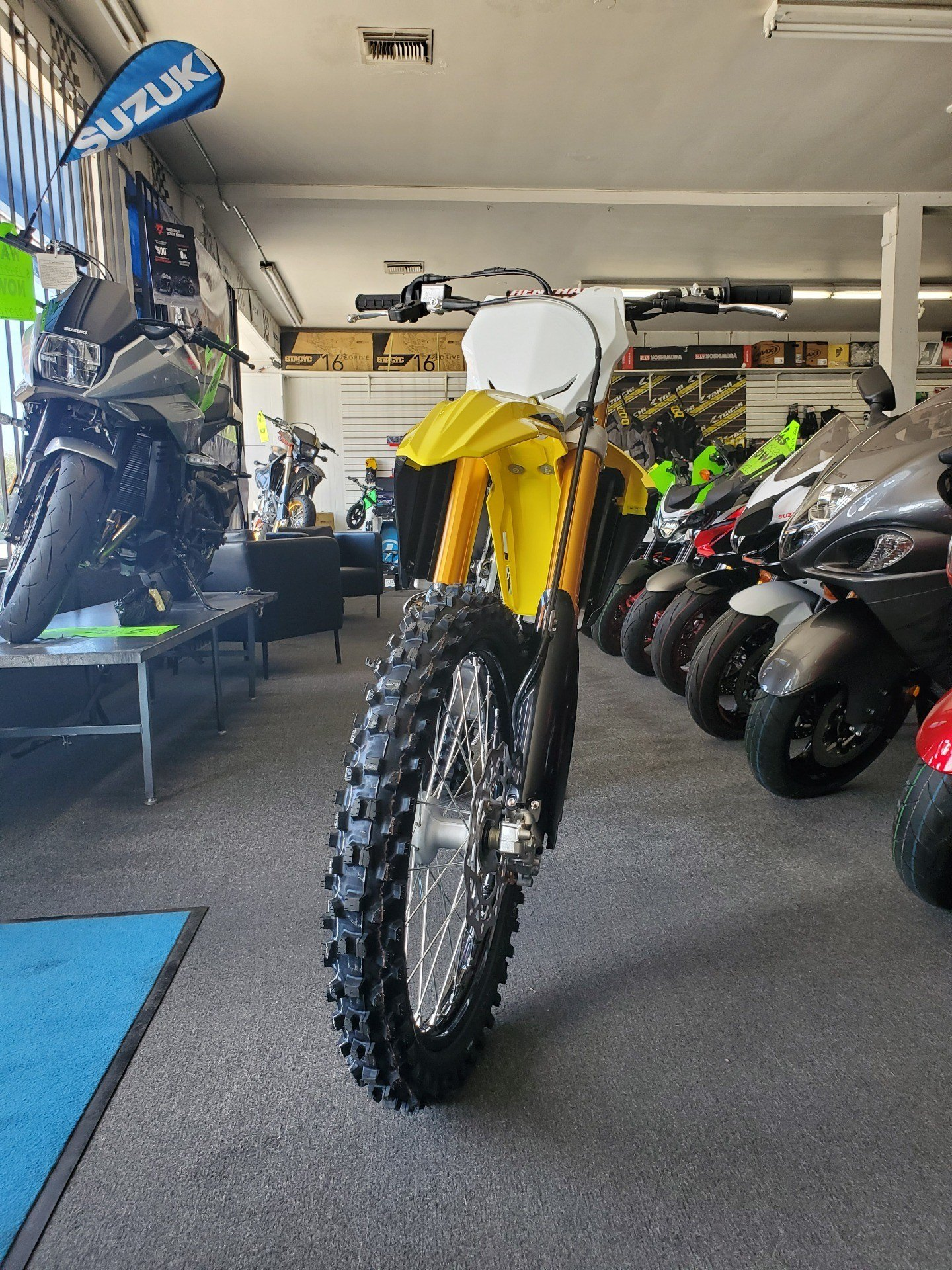 2020 Suzuki RM-Z250 in Van Nuys, California - Photo 4