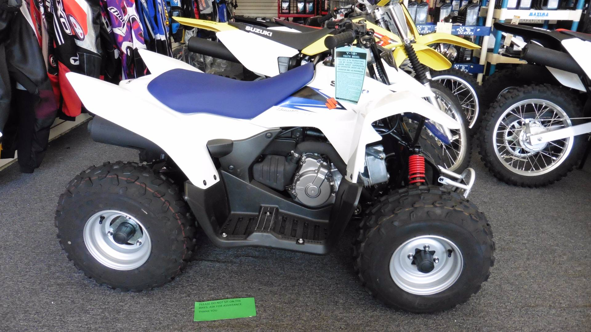 2016 Suzuki QuadSport Z90 in Van Nuys, California