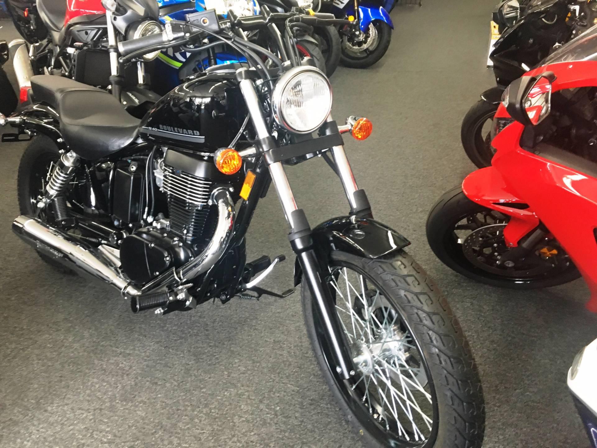 New 2017 Suzuki Boulevard S40 Motorcycles in Van Nuys, CA
