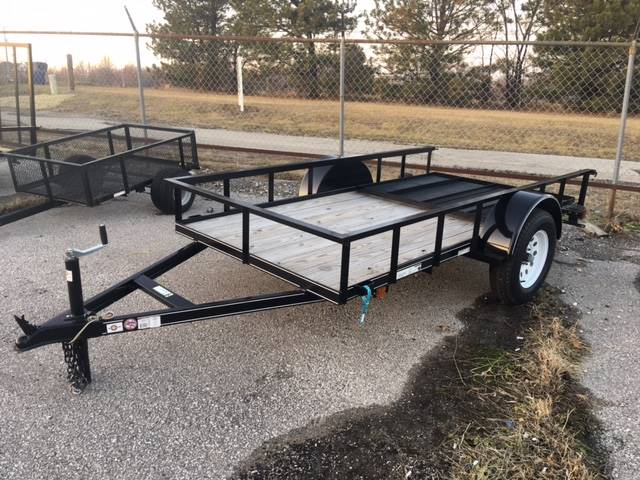 2015 carry on trailers 5x10gw 2 990 lbs gvwr wood floor for Wood floor utility trailer