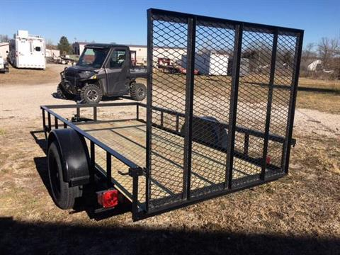 LAY FLAT IN BED GATE STANDARD/ OR RUN AS UPRIGHT GATE AS SHOWN - Photo 3
