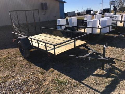 2IN COUPLER, TREATED FLOOR, 15IN WHEELS, GREAT LOW COST TRAILER - Photo 4