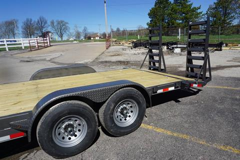 2019 BULLDOG TRAILERS INC 7X18+2 14K EQ in Kansas City, Kansas