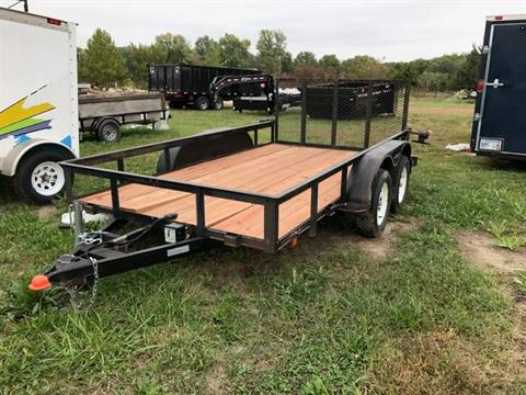 2004 BUCK DANDY 6X12 TANDEM W/GATE in Kansas City, Kansas