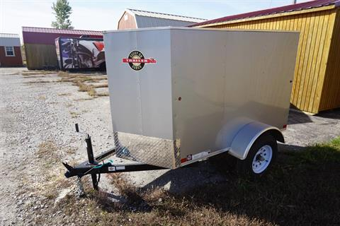 2017 Carry-On Trailers 4X6CGVEC-13 in Kansas City, Kansas