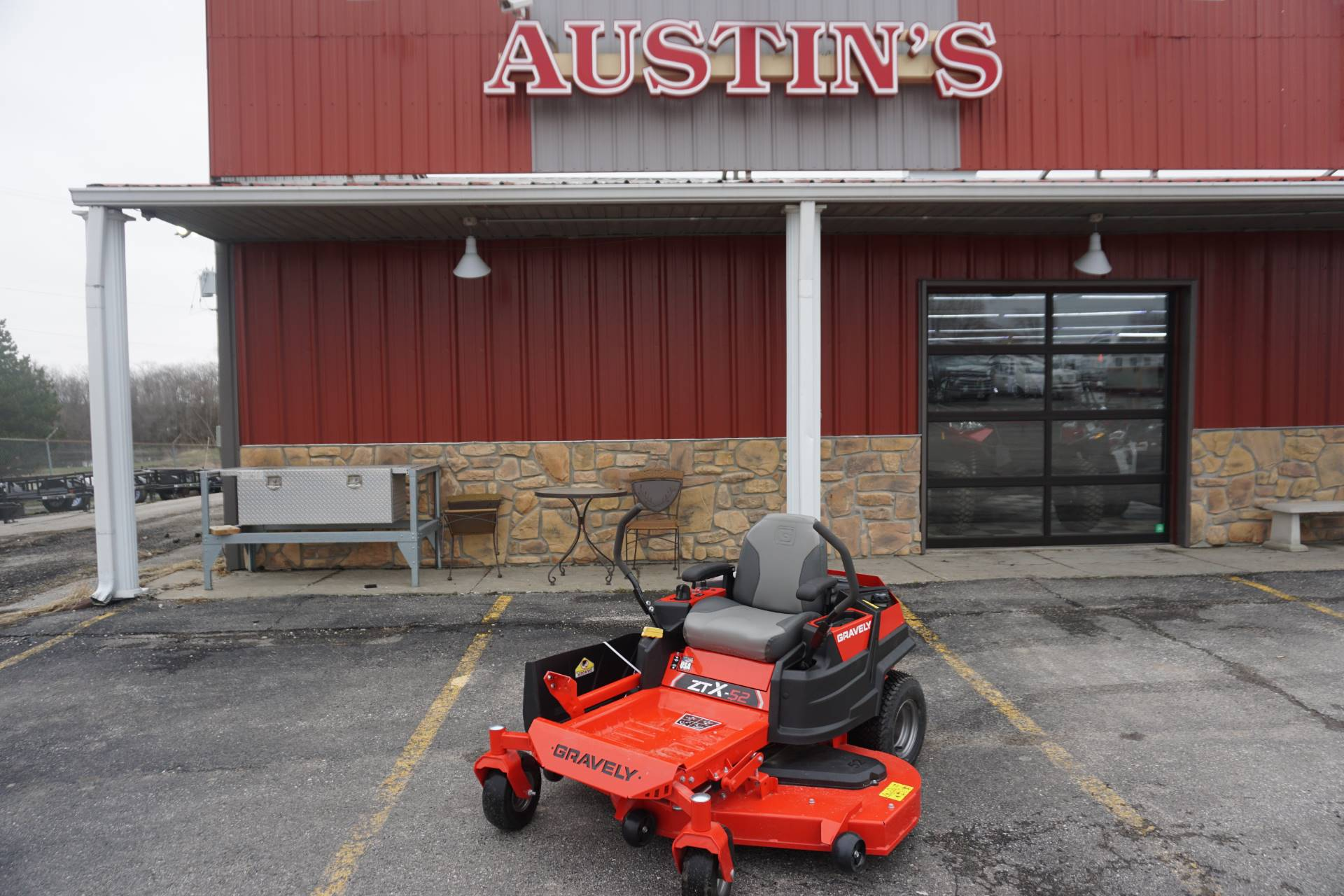 2018 Gravely USA ZT X 52 in. Kohler 7000 25 hp in Kansas City, Kansas - Photo 1