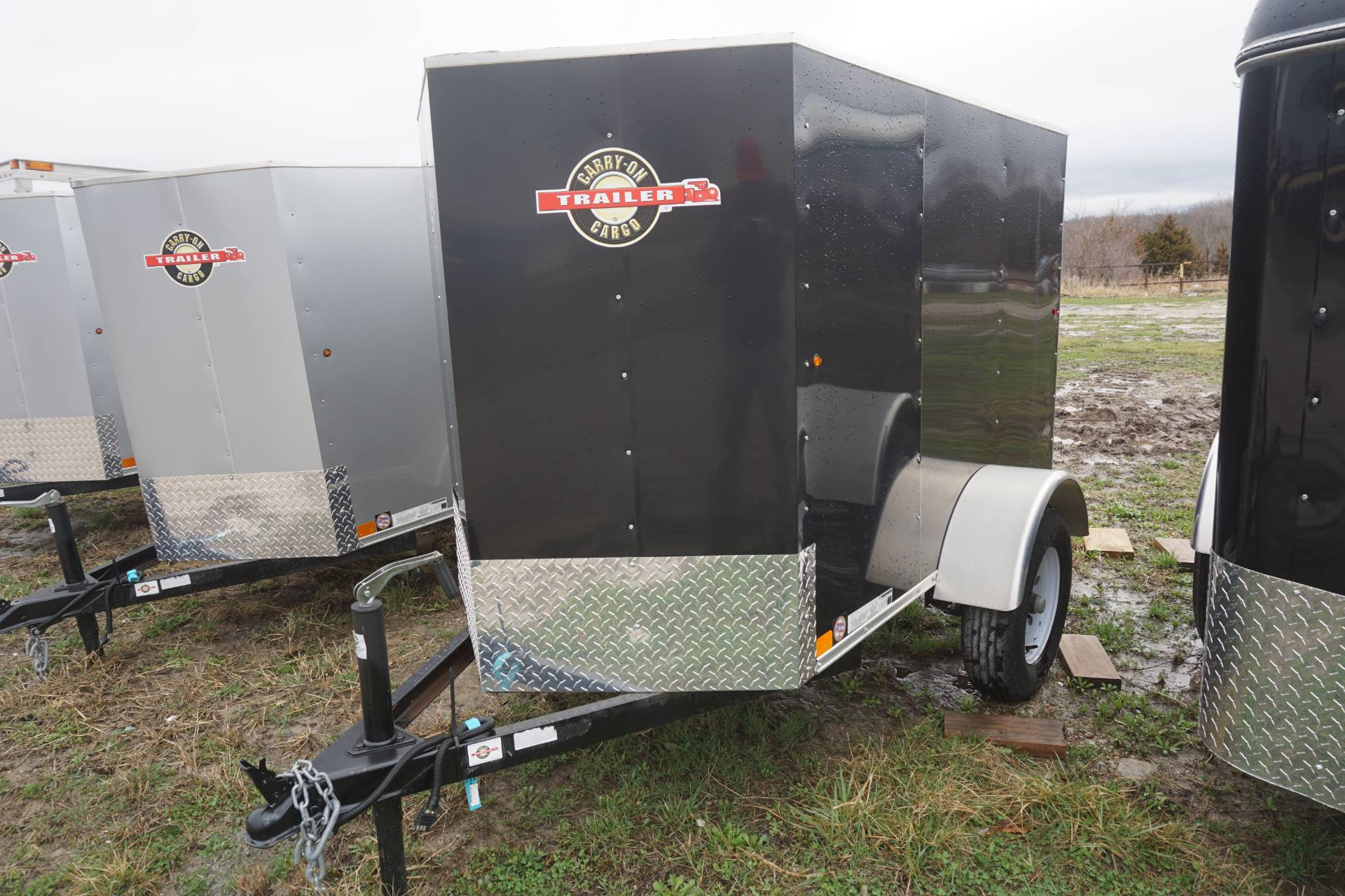 2017 Carry-On Trailers 4X6CGVEC-13 in Kansas City, Kansas - Photo 1