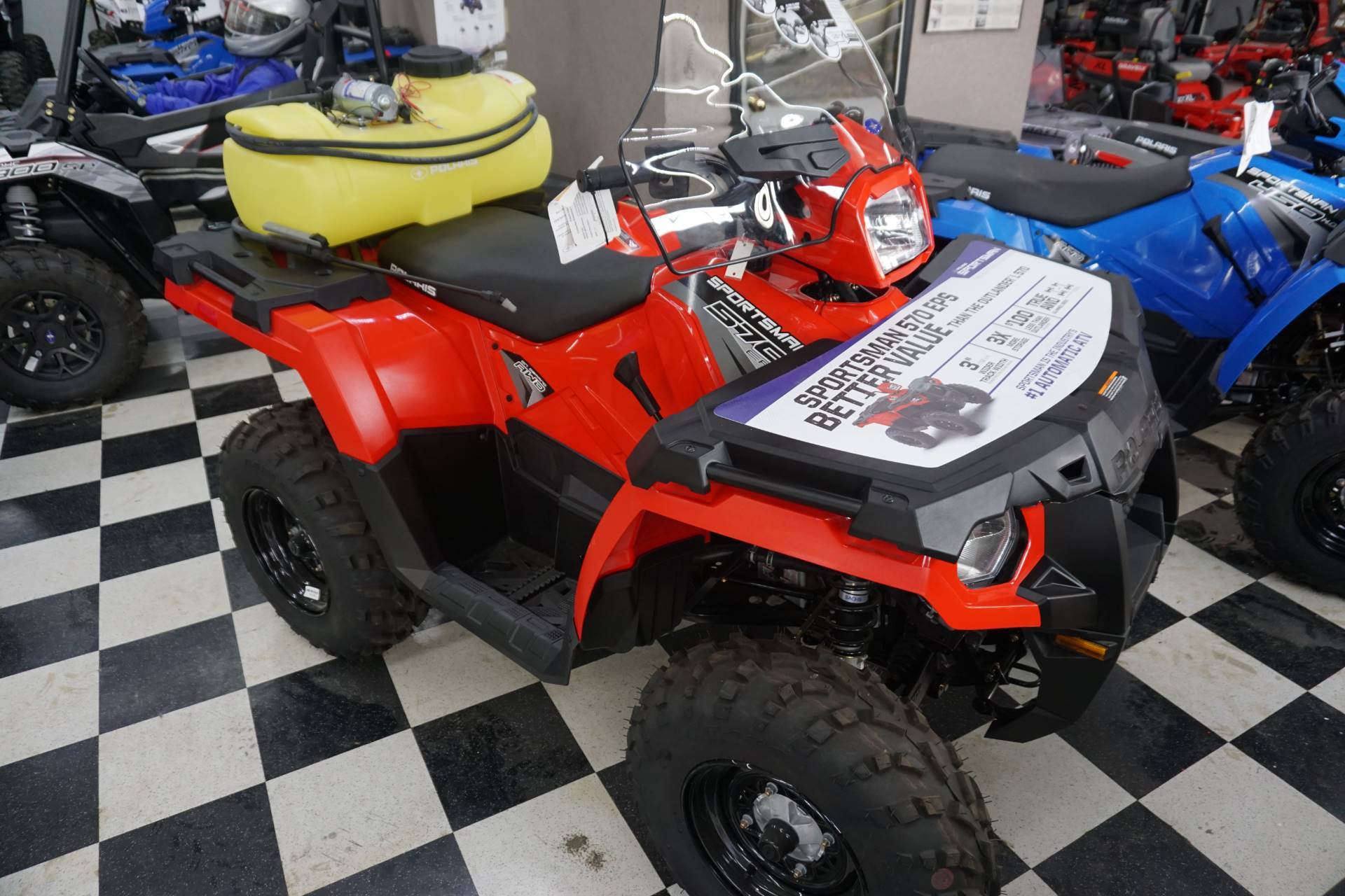 2019 Polaris Sportsman 450 H.O. EPS for sale 13240
