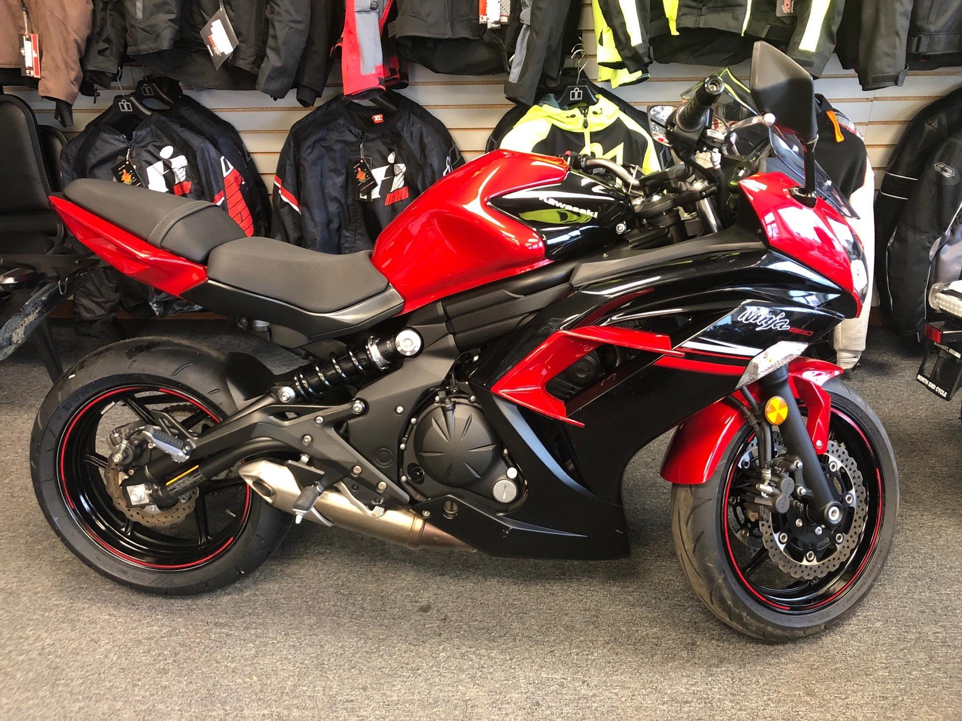 Used 2016 Kawasaki Ninja 650 Motorcycles In Elkhart In Stock