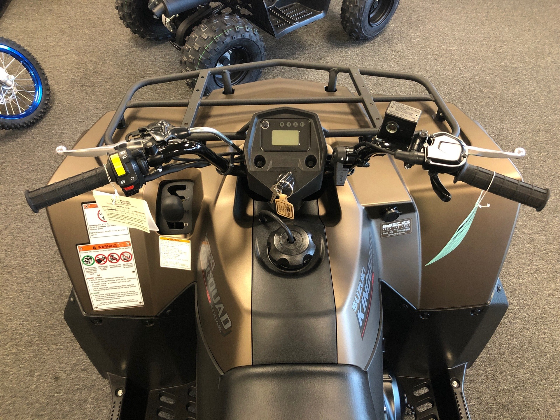2020 Suzuki KingQuad 400ASi SE+ in Elkhart, Indiana - Photo 6