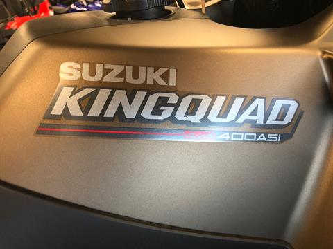 2020 Suzuki KingQuad 400ASi SE+ in Elkhart, Indiana - Photo 9