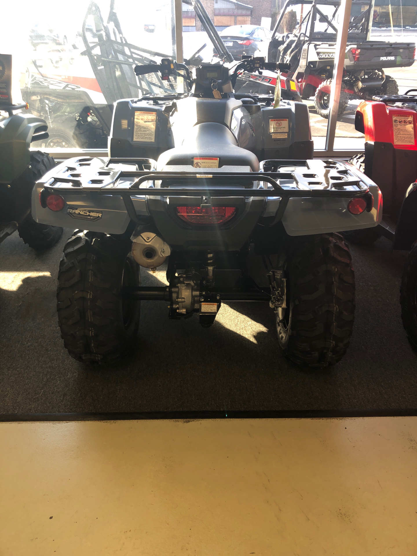 2021 Honda FourTrax Rancher 4x4 Automatic DCT EPS in Elkhart, Indiana - Photo 4