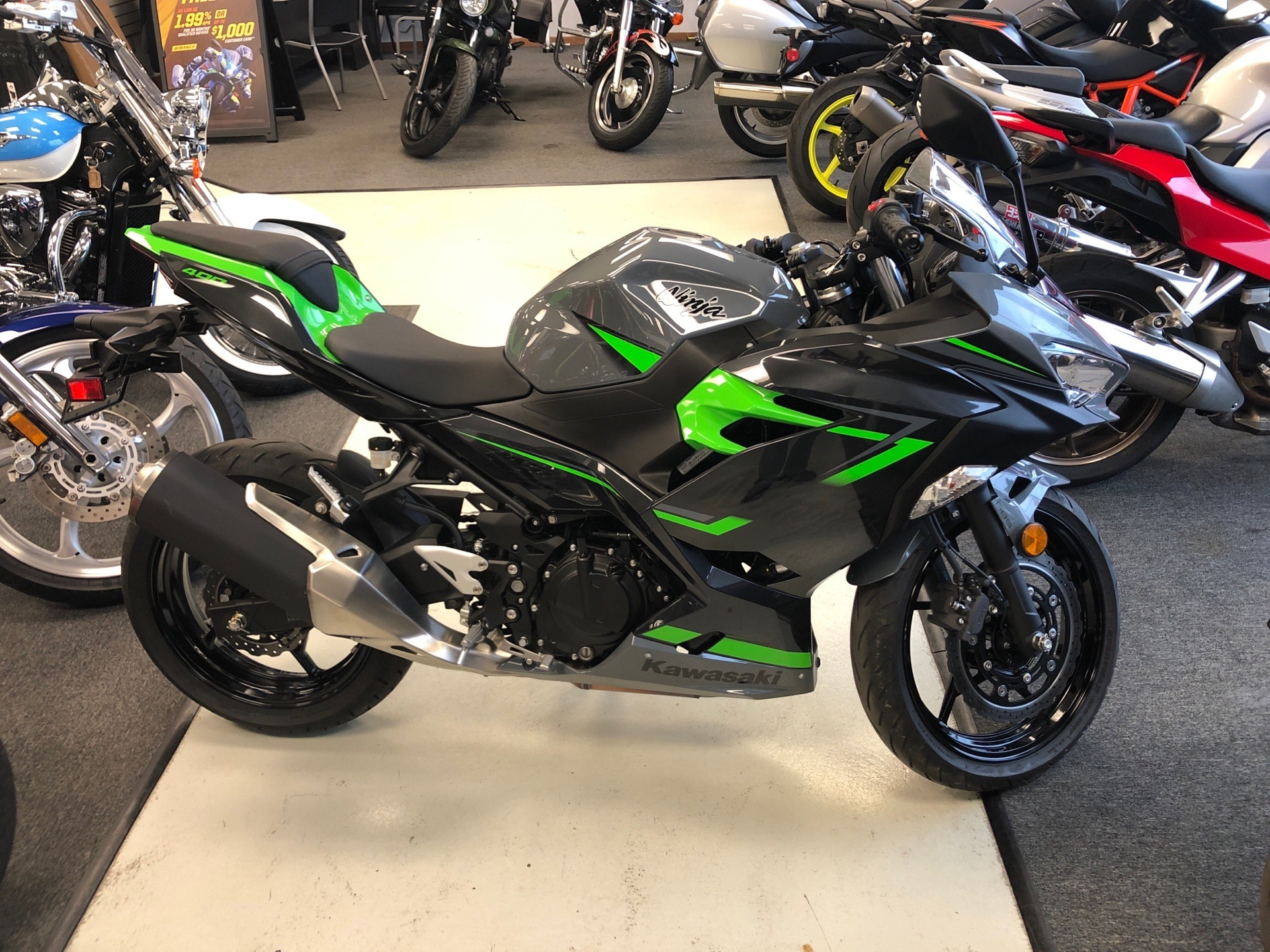 2019 Kawasaki Ninja 400 ABS in Elkhart, Indiana - Photo 1