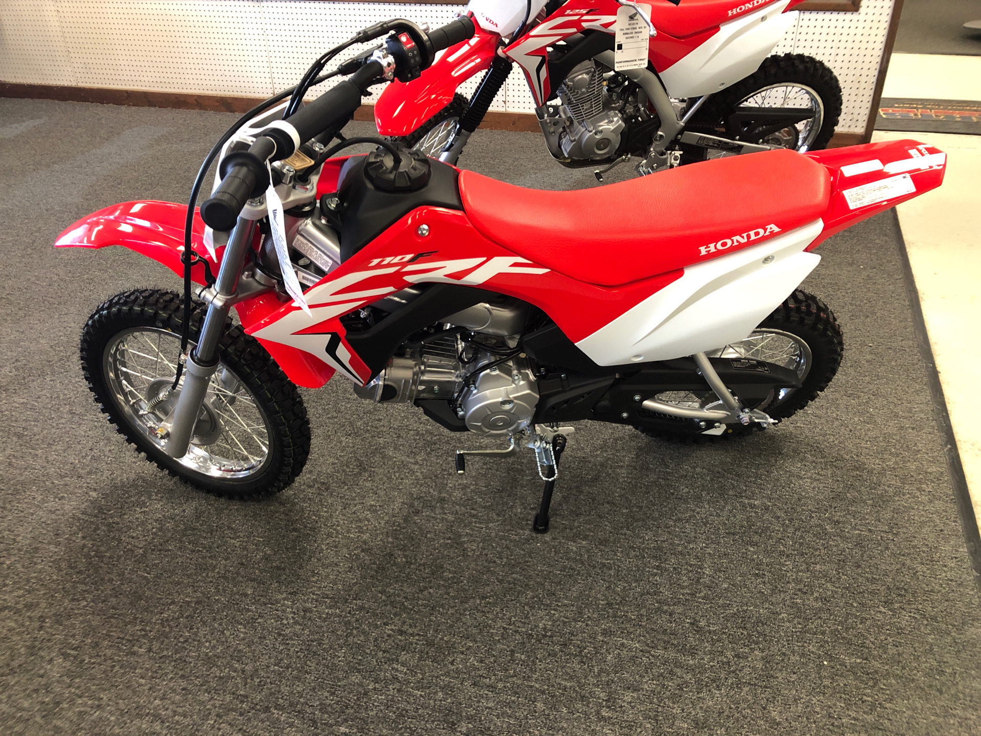 2021 Honda CRF110F in Elkhart, Indiana - Photo 2