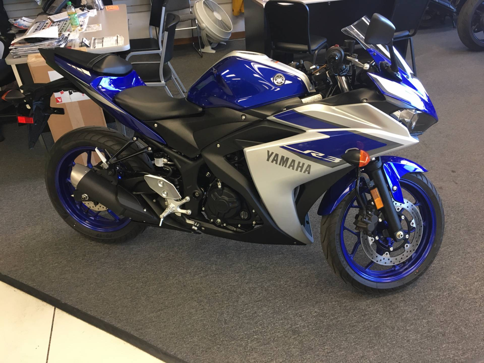 2015 yamaha yzf r3 for sale elkhart in 57571. Black Bedroom Furniture Sets. Home Design Ideas