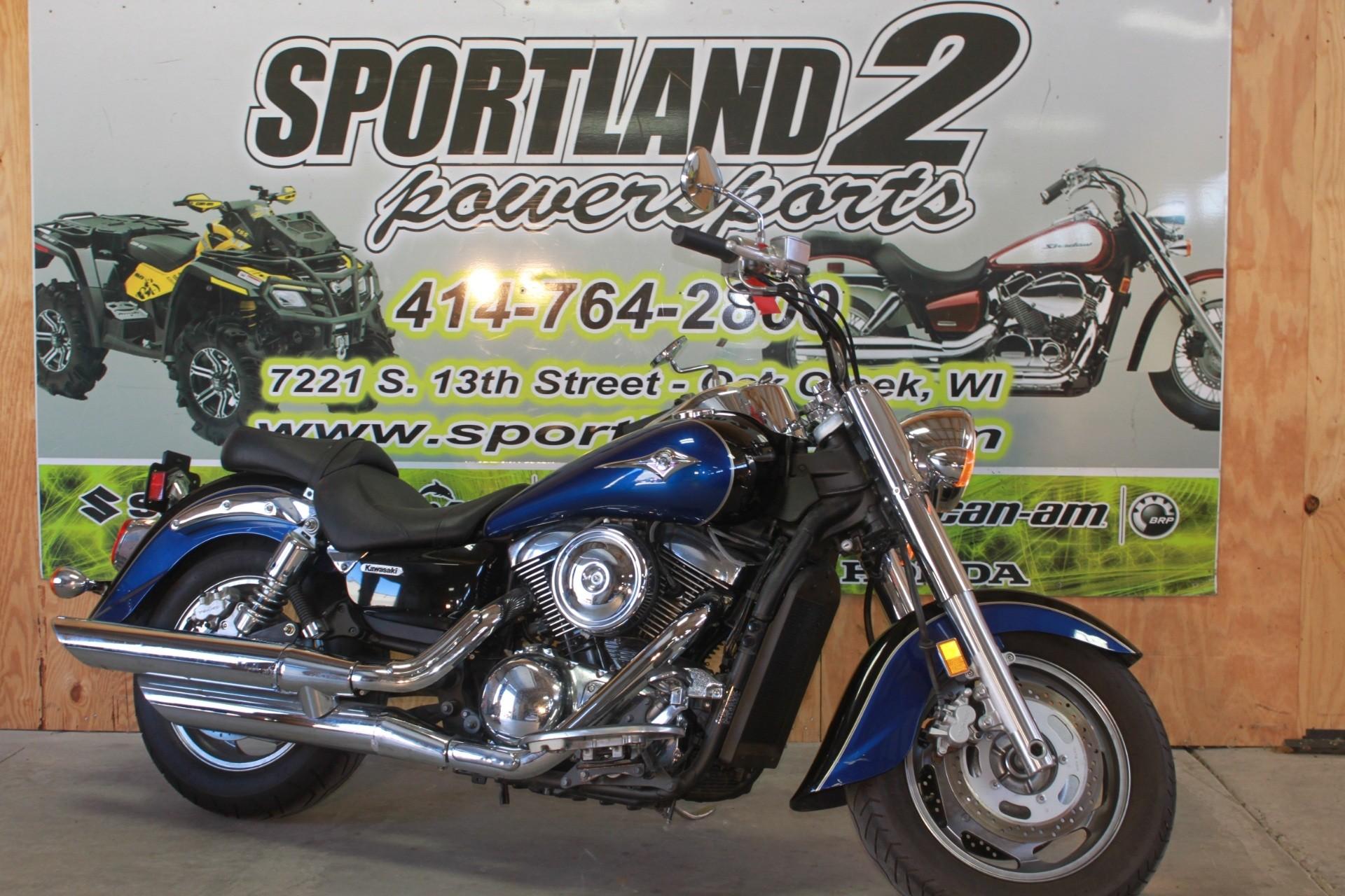 2008 Kawasaki Vulcan® 1600 Classic Motorcycles Oak Creek Wisconsin P7700