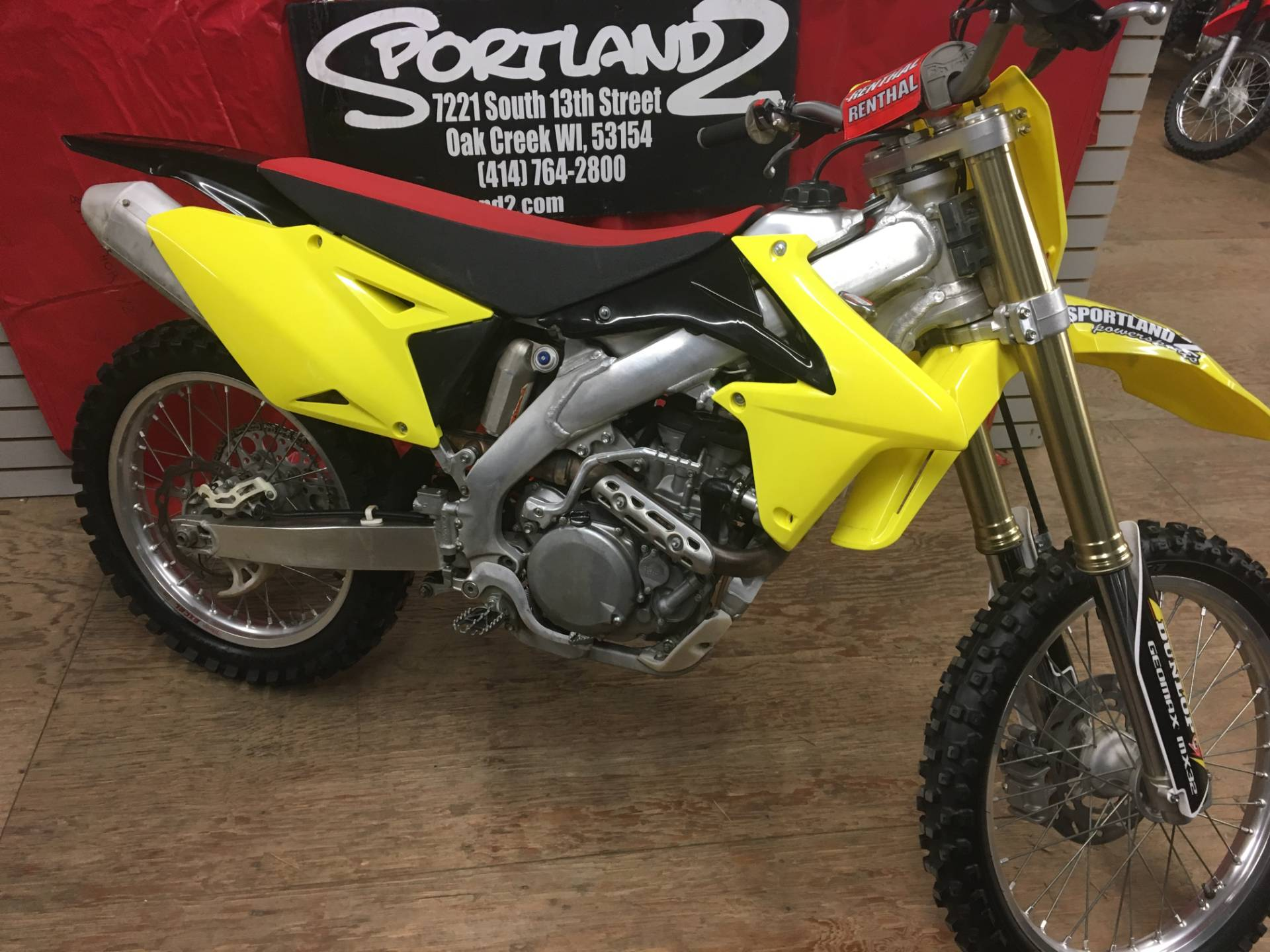 2014 Suzuki RM-Z450 in Oak Creek, Wisconsin - Photo 2