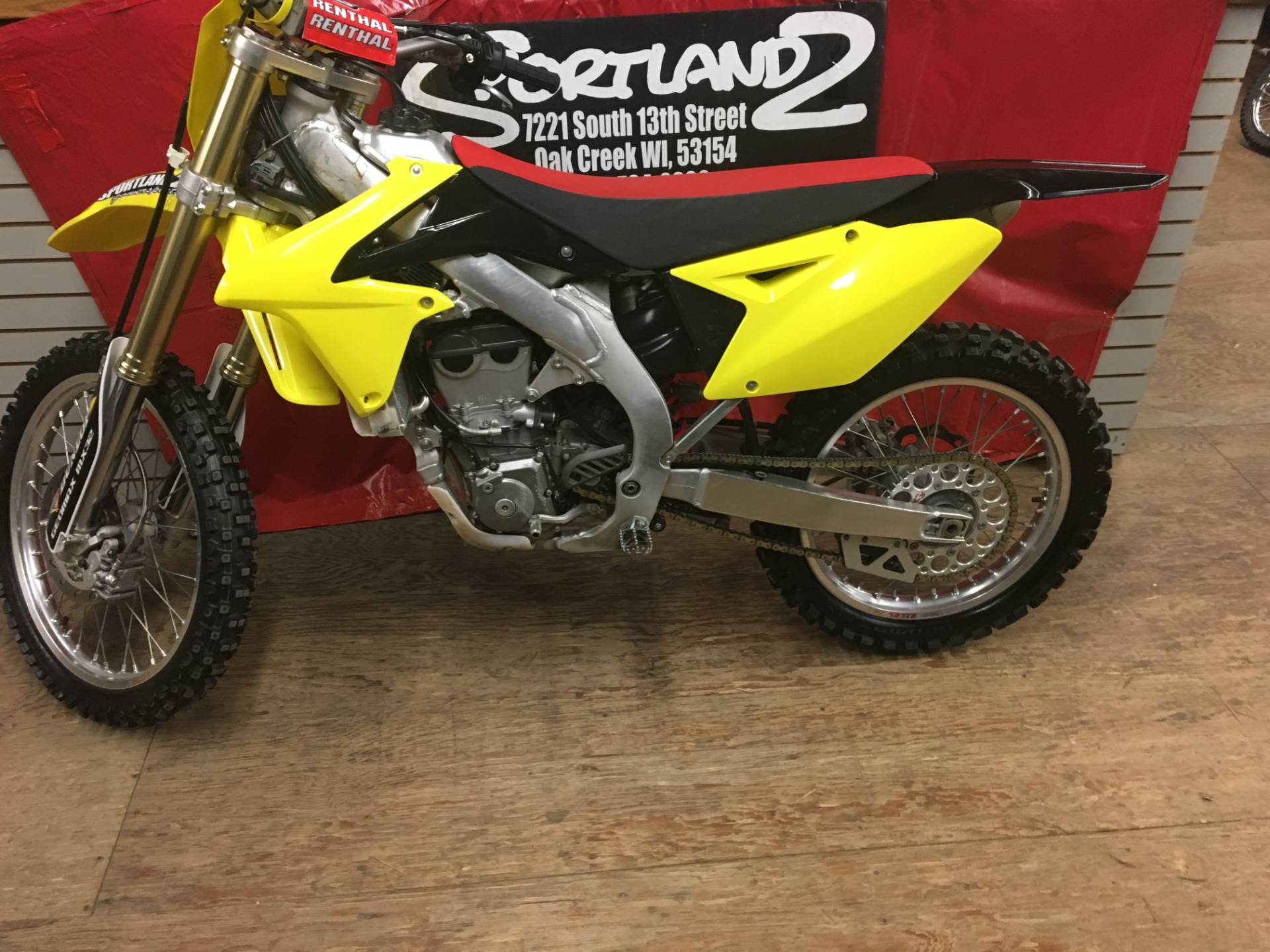 2014 Suzuki RM-Z450 in Oak Creek, Wisconsin - Photo 4