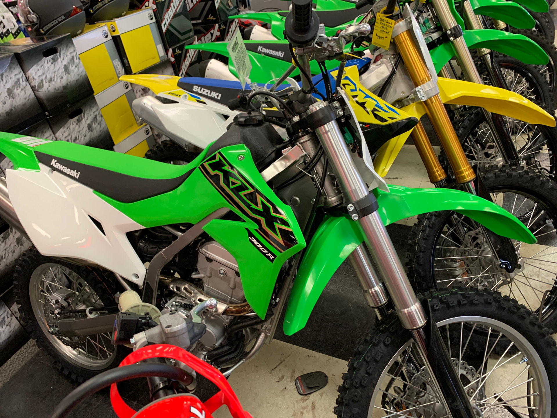 2021 Kawasaki KLX 300R in Oak Creek, Wisconsin - Photo 1