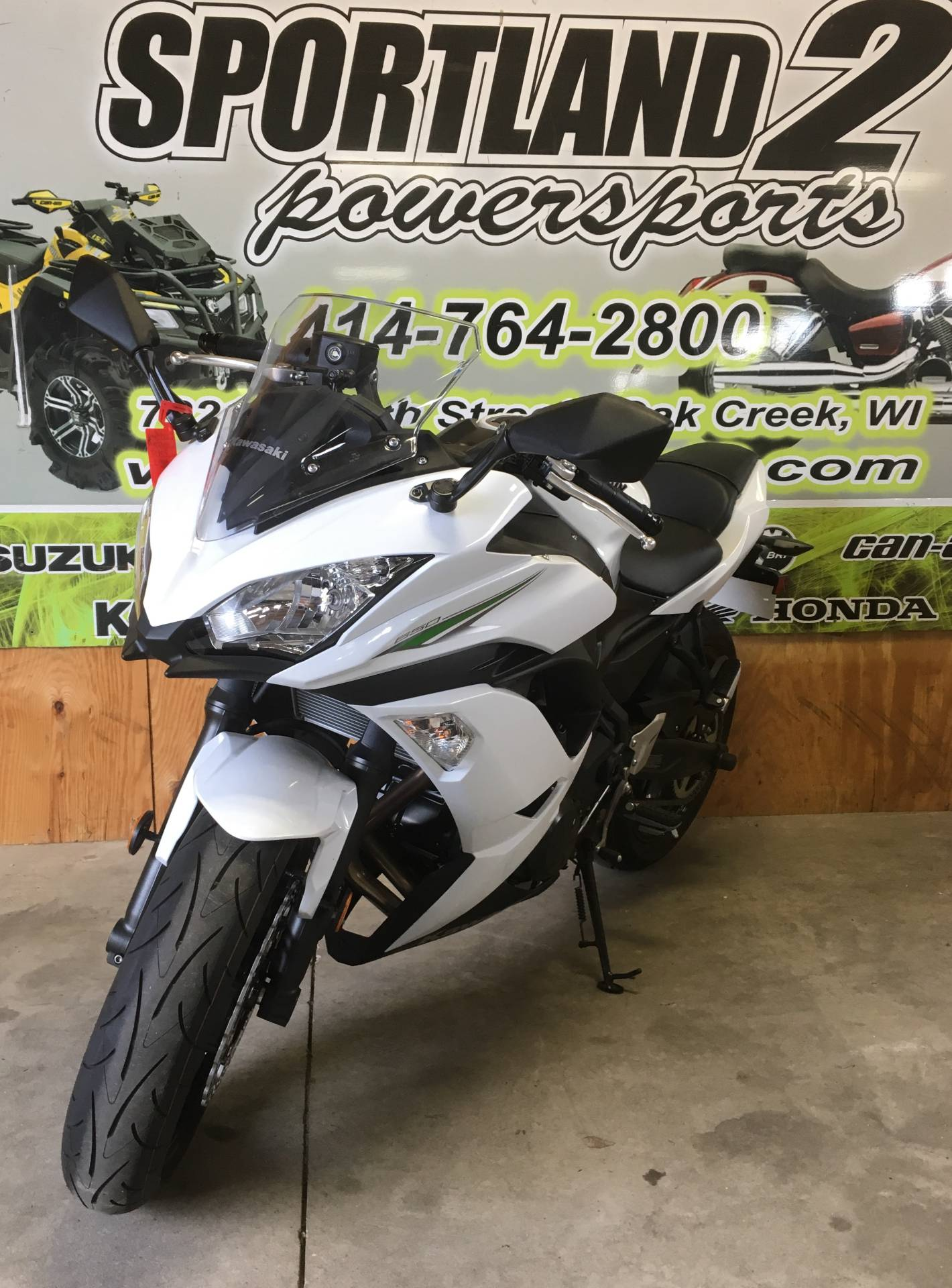 2017 Kawasaki Ninja 650 in Oak Creek, Wisconsin