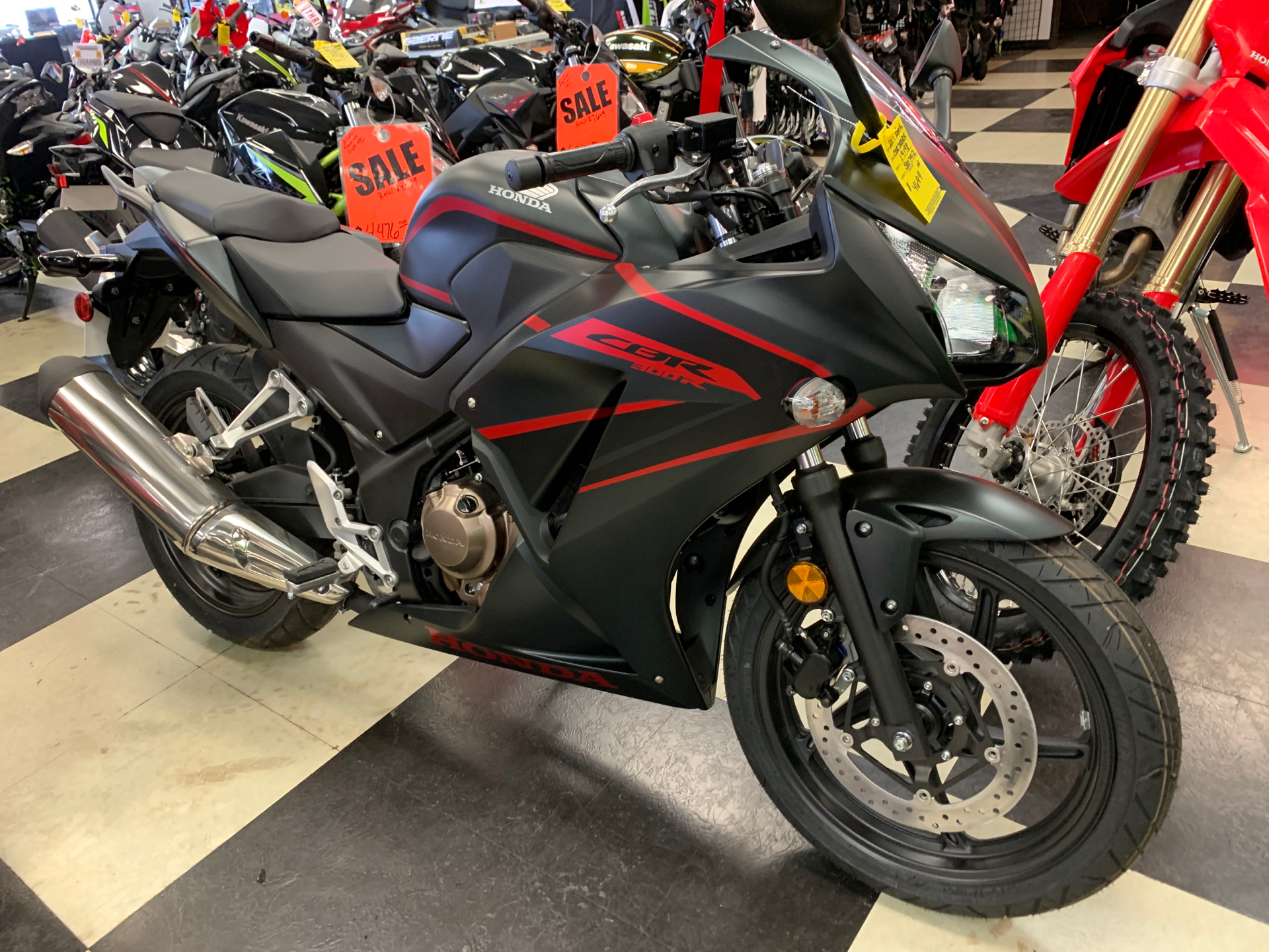 2019 Honda CBR300R in Oak Creek, Wisconsin - Photo 1