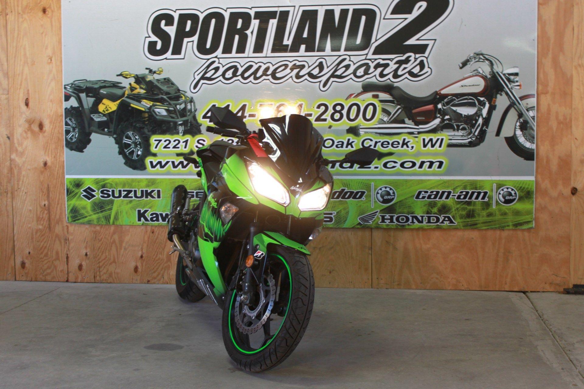 2014 Kawasaki Ninja® 300 ABS in Oak Creek, Wisconsin