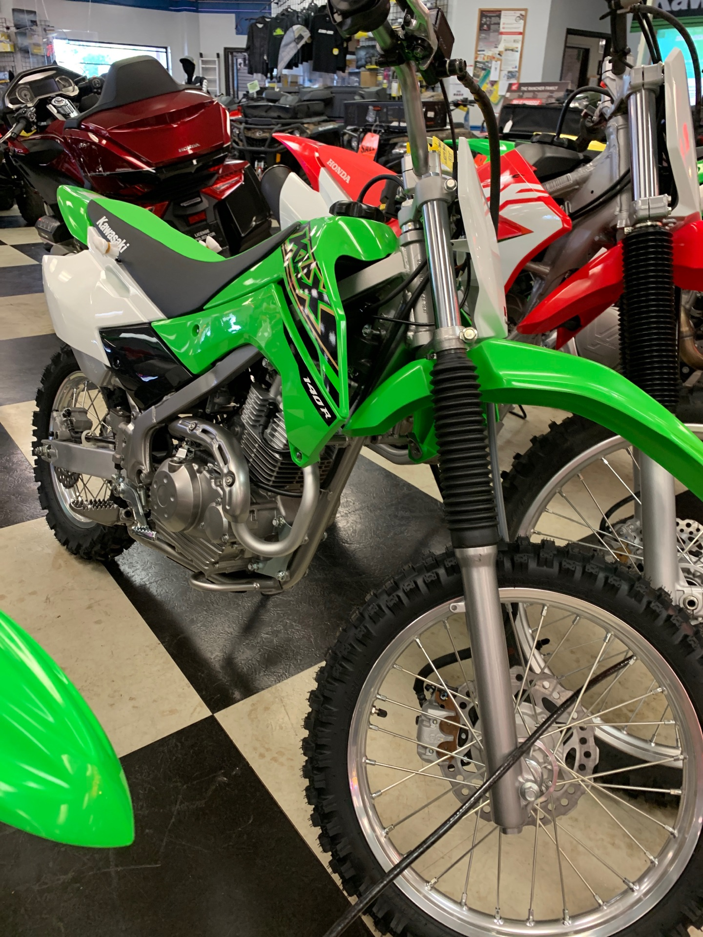 2021 Kawasaki KLX 140R in Oak Creek, Wisconsin - Photo 1