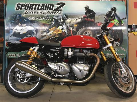 2016 Triumph Thruxton 1200 R in Oak Creek, Wisconsin - Photo 1