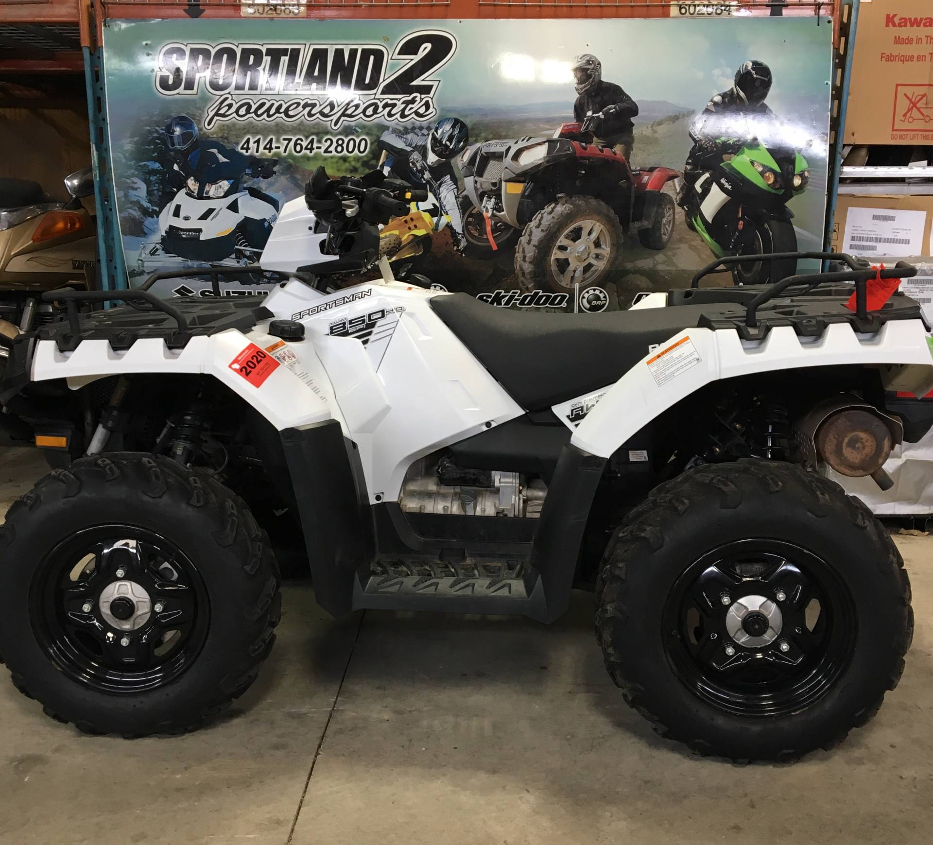 2016 Polaris Sportsman 850 in Oak Creek, Wisconsin - Photo 1
