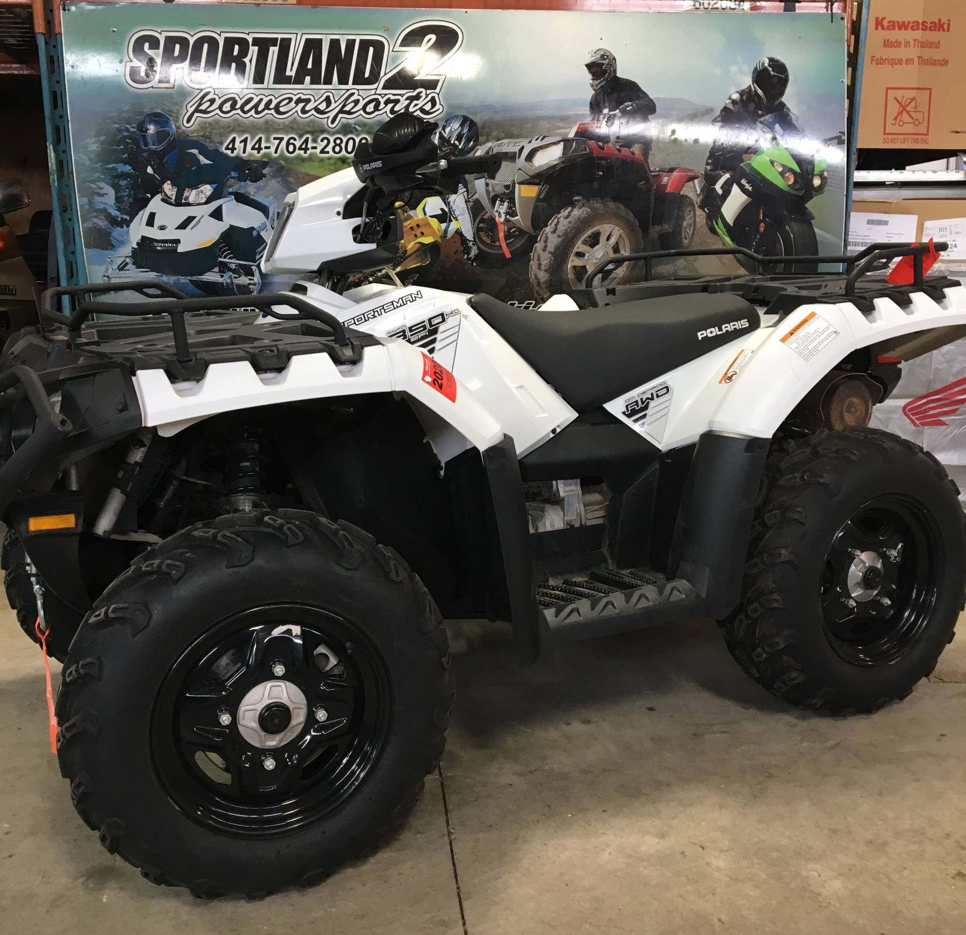 2016 Polaris Sportsman 850 in Oak Creek, Wisconsin - Photo 2