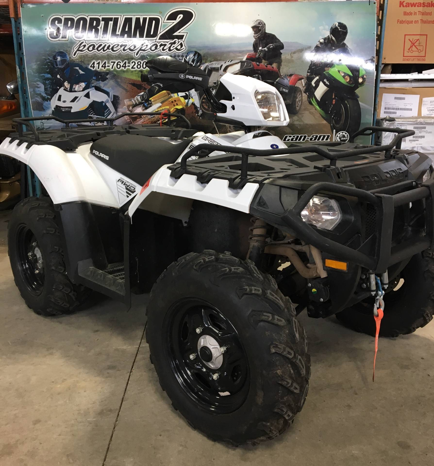 2016 Polaris Sportsman 850 in Oak Creek, Wisconsin - Photo 4