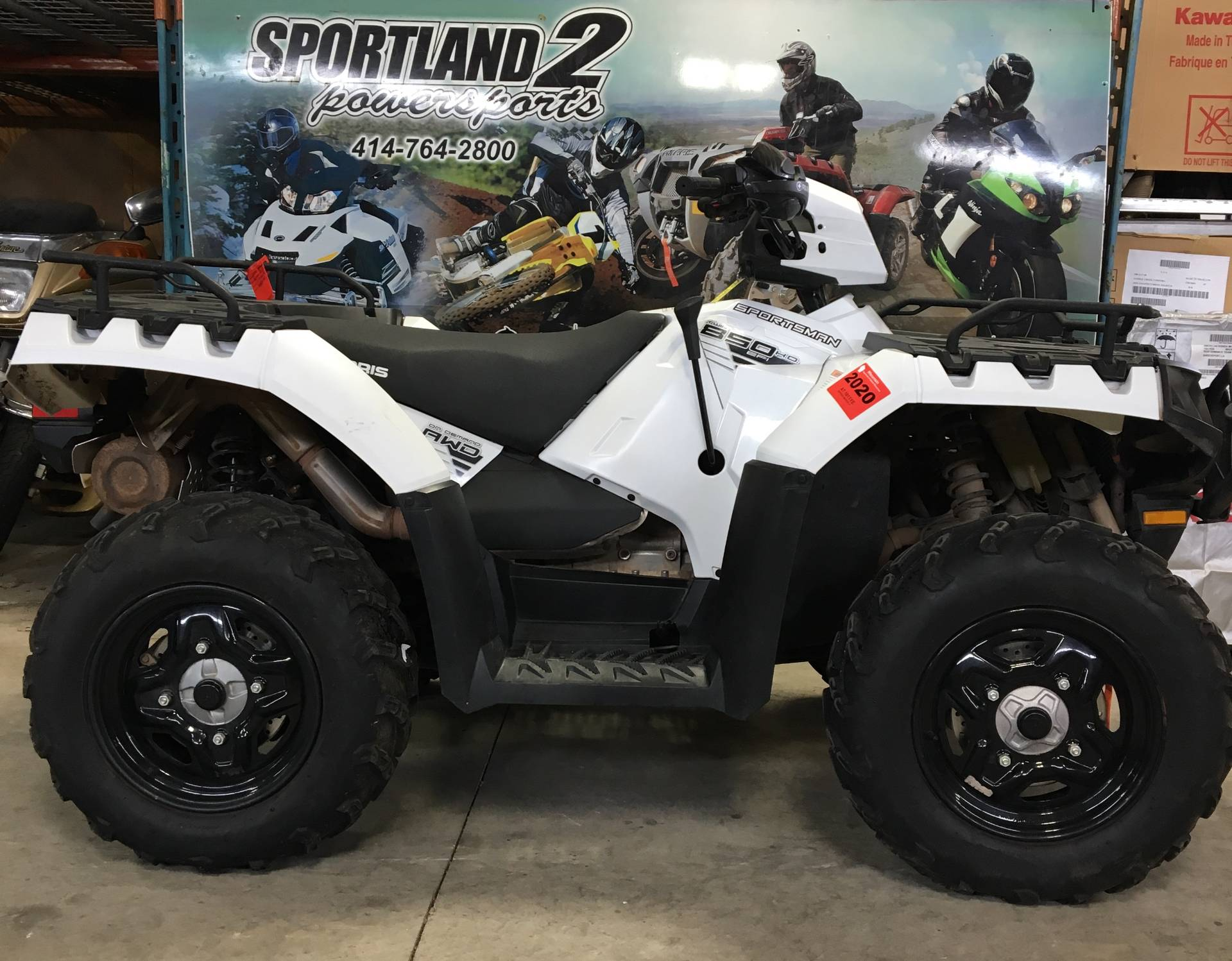 2016 Polaris Sportsman 850 in Oak Creek, Wisconsin - Photo 5