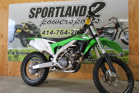 2016 Kawasaki KX450F in Oak Creek, Wisconsin