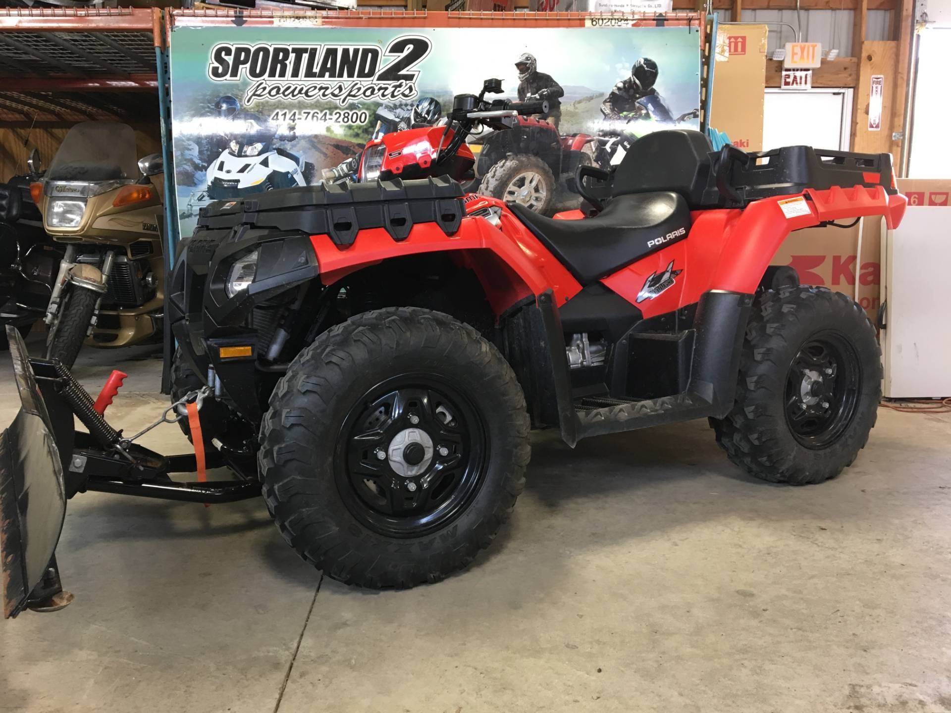 2010 Polaris Sportsman® 550 X2 in Oak Creek, Wisconsin - Photo 2