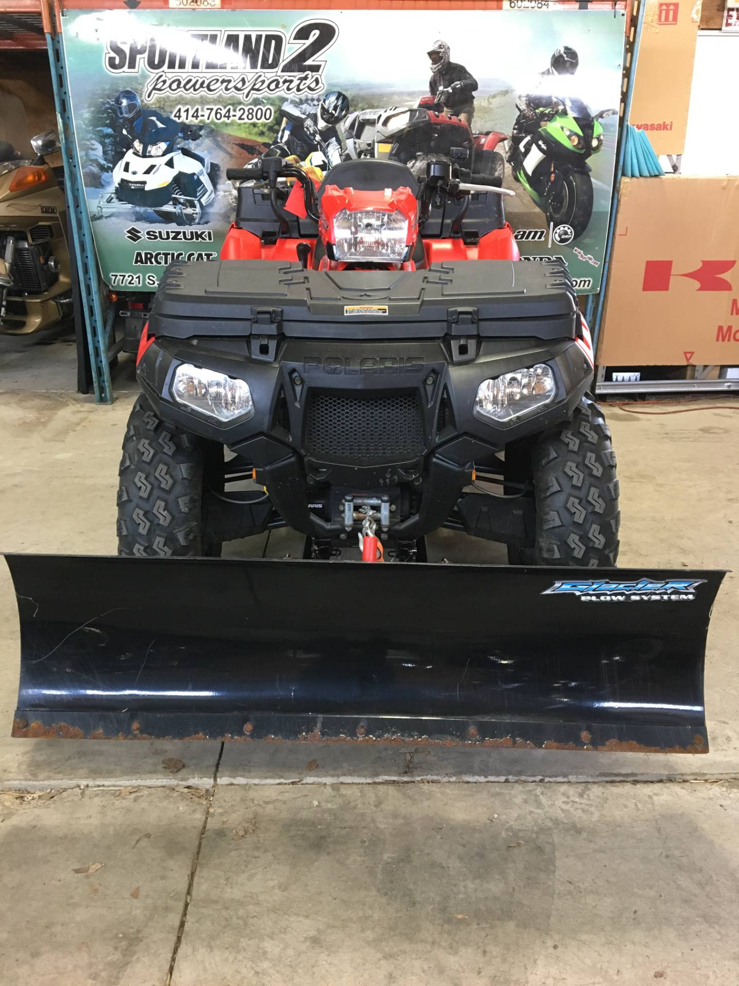 2010 Polaris Sportsman® 550 X2 in Oak Creek, Wisconsin - Photo 3