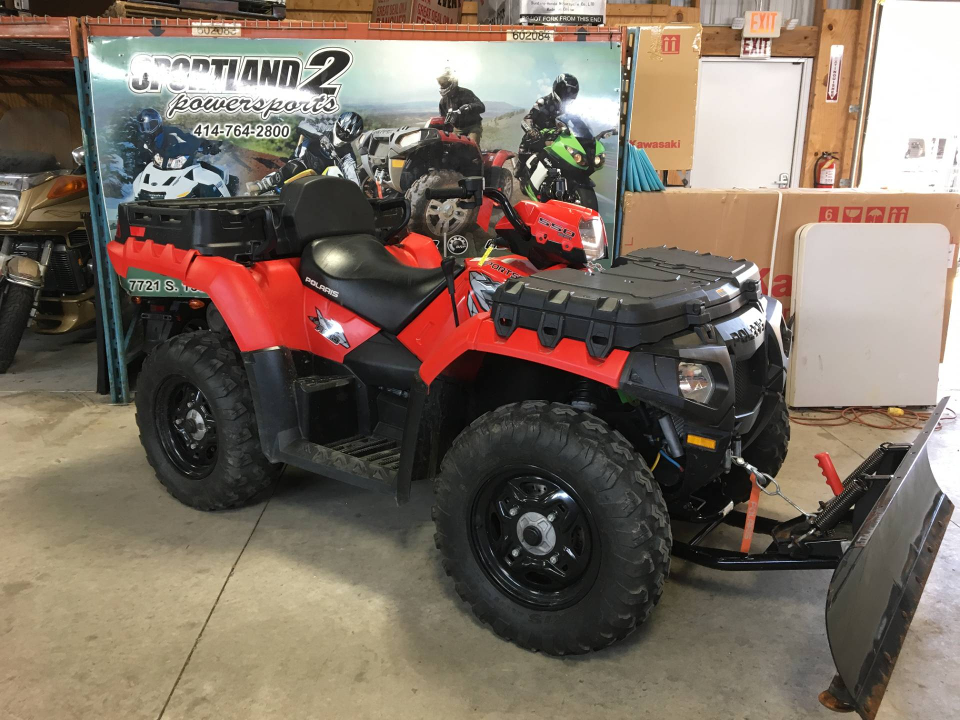 2010 Polaris Sportsman® 550 X2 in Oak Creek, Wisconsin - Photo 4