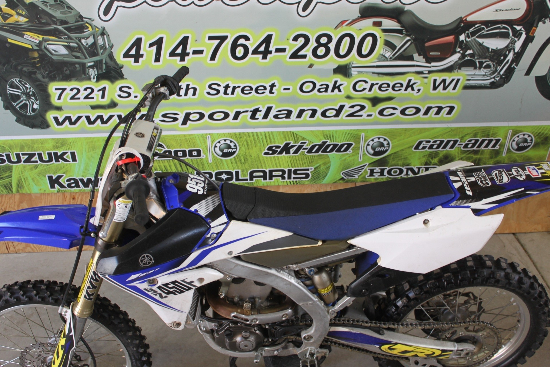 2014 Yamaha YZ450F in Oak Creek, Wisconsin