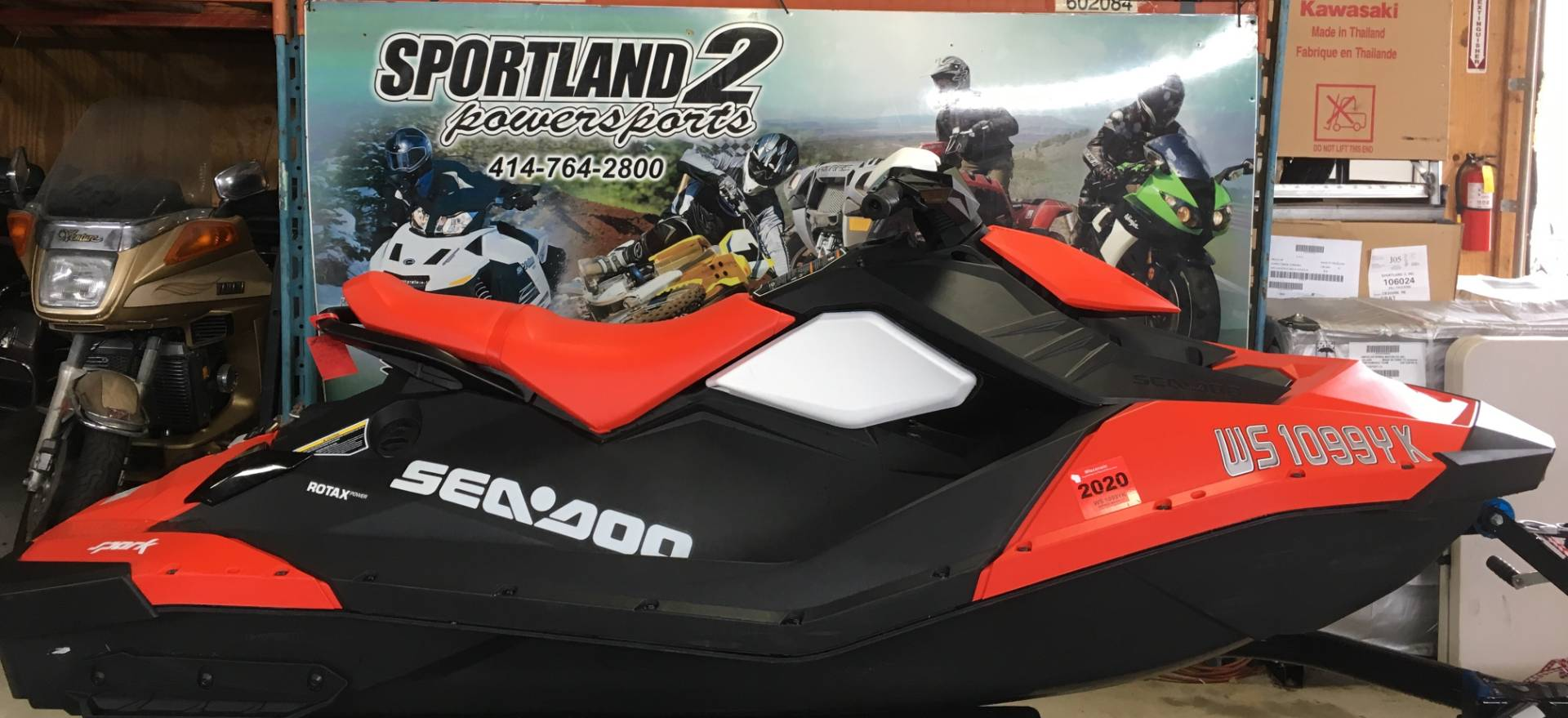 2017 Sea-Doo SPARK 2up 900 ACE for sale 141324