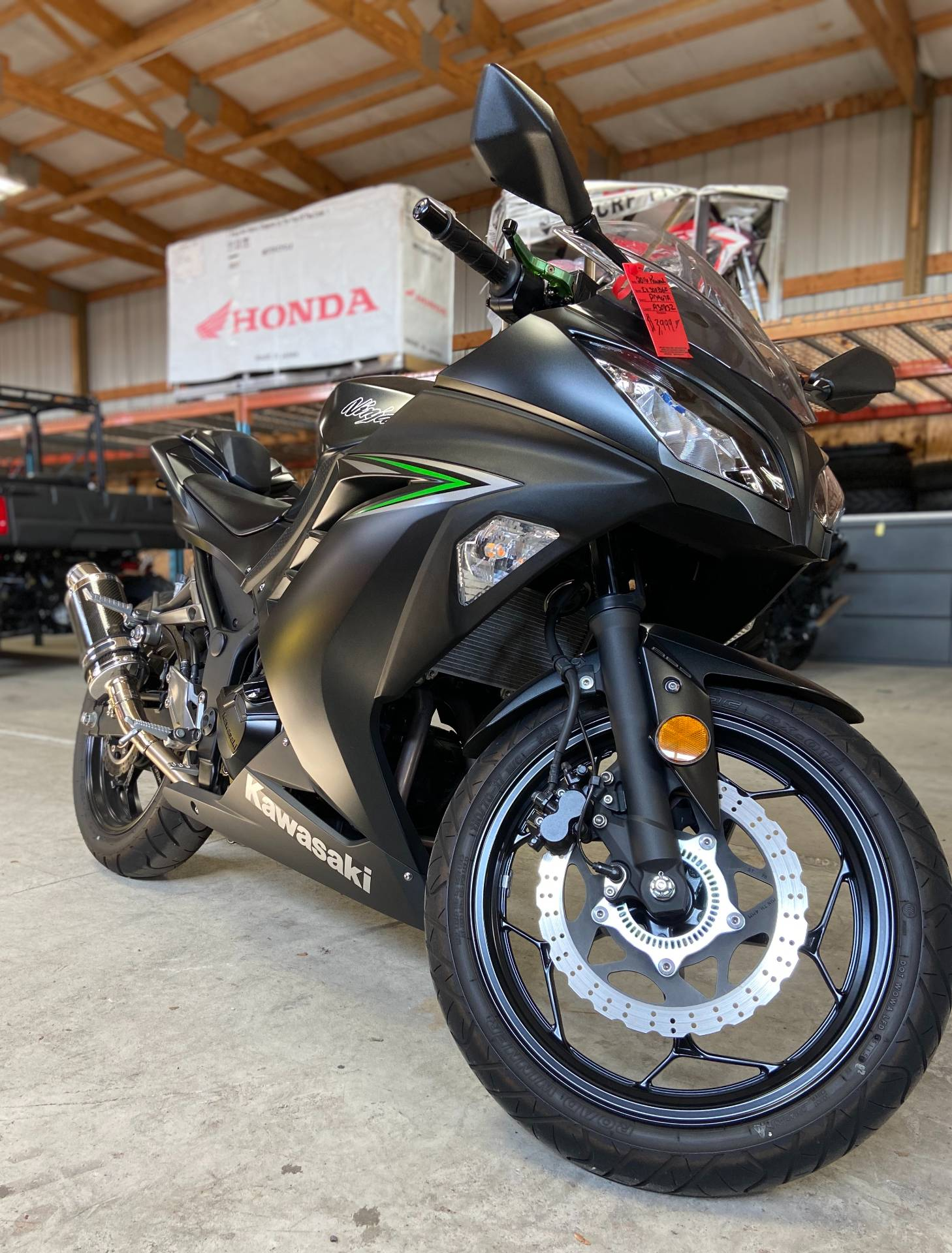 2016 Kawasaki Ninja 300 ABS in Oak Creek, Wisconsin - Photo 7