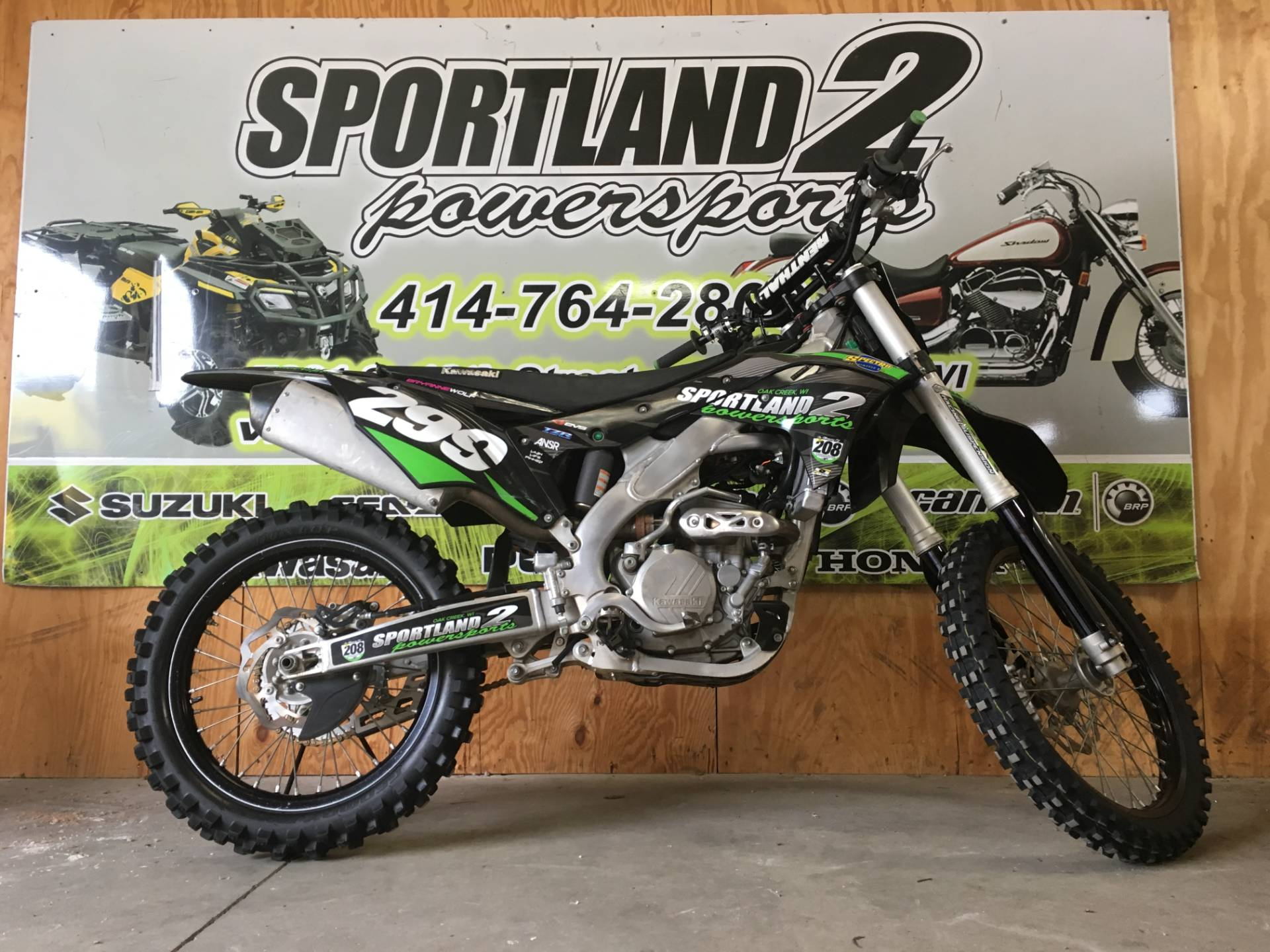 2017 Kawasaki KX250F in Oak Creek, Wisconsin - Photo 3