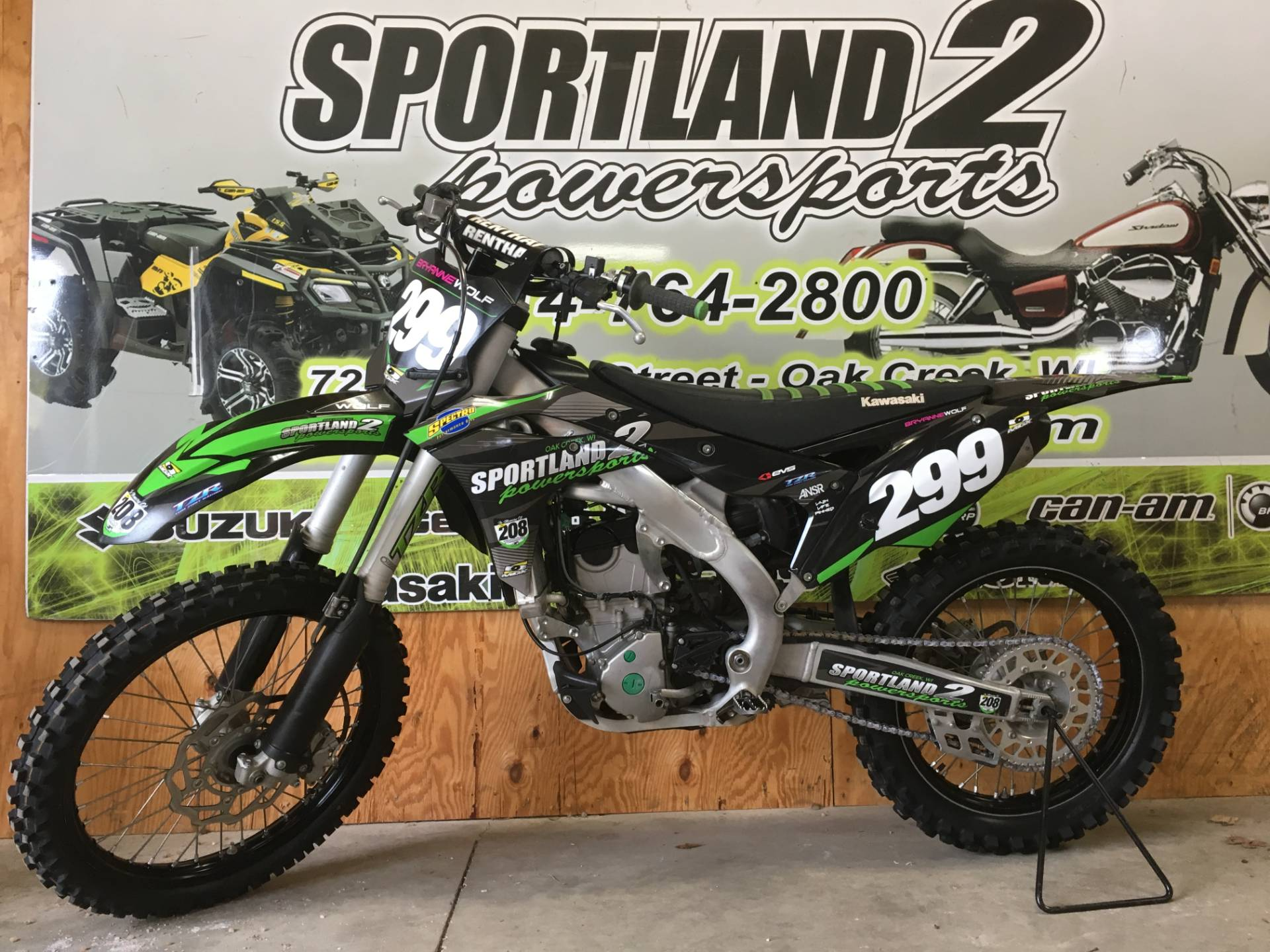 2017 Kawasaki KX250F in Oak Creek, Wisconsin - Photo 1