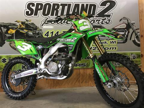 2017 Kawasaki KX250F in Oak Creek, Wisconsin