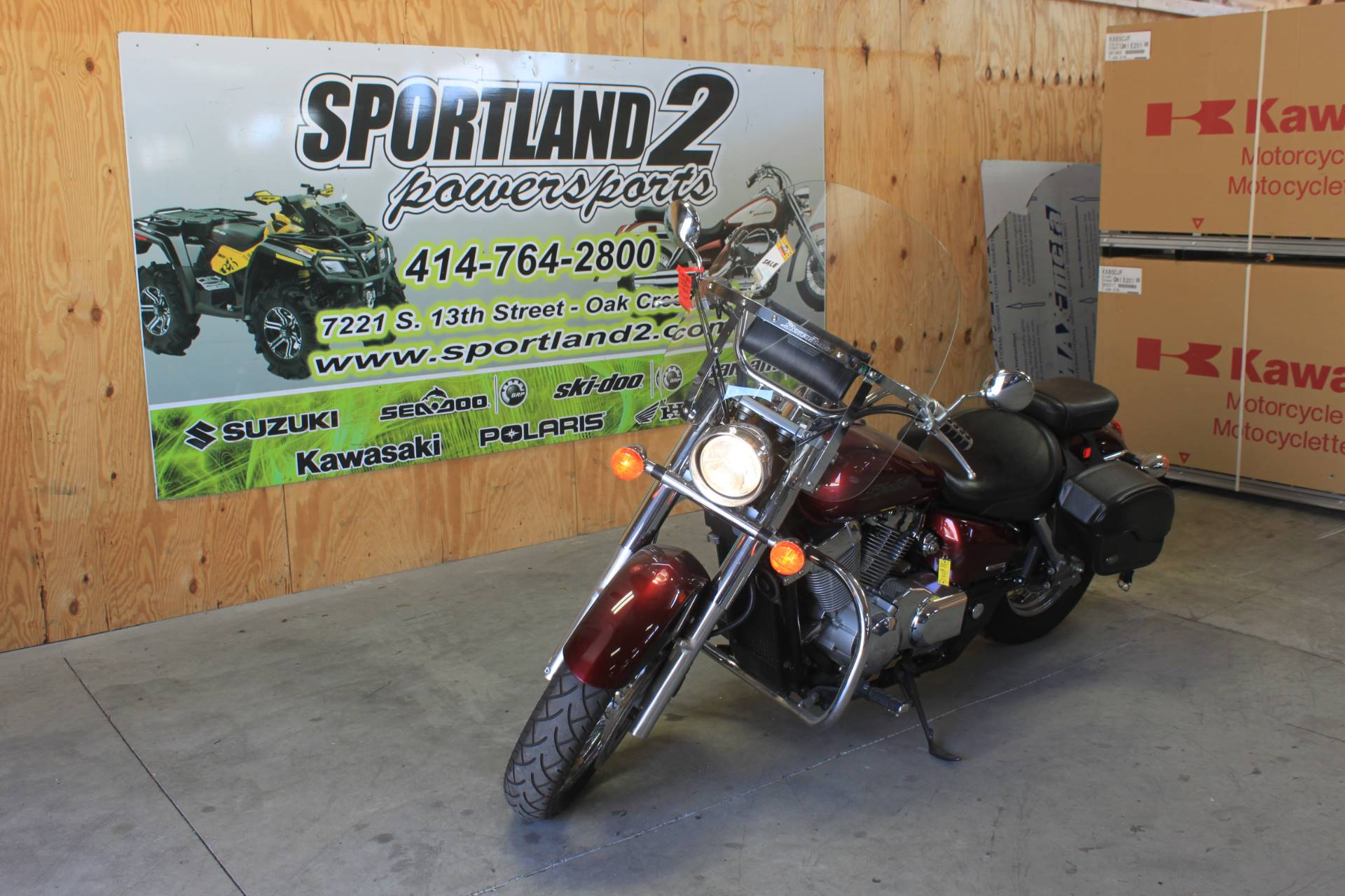 2006 Honda Shadow Aero® in Oak Creek, Wisconsin